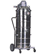 Vacuum Cleaner; Explosion Proof, Wheeled Trolley, Minuteman, 120 V