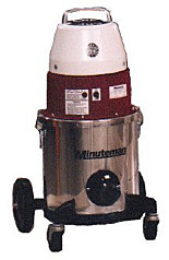 Vacuum Cleaner; Cleanroom Use, Wheeled Trolley, Minuteman, 120 V