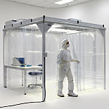 ValuLine™ Preconfigured Softwall Cleanrooms