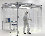 Cleanroom Curtains and Strip Shields