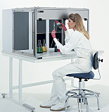 ValuLine™ Benchtop Ducted Exhaust Fume Hoods