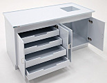 Polypropylene Casework; Four Drawer Cabinet
