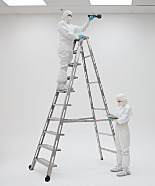 BioSafe® Cleanroom Folding Ladders