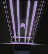 Germicidal UV Illuminator; for Modular Cleanrooms, Universal, 120 V