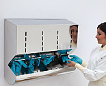 BioSafe® Glove Dispensers, Stainless Steel