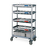 MetroMax i® Glassware Carts by InterMetro