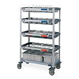 MetroMax i® Glassware Carts by InterMetro