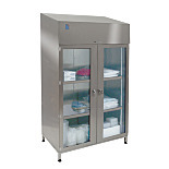 Garment Cabinets; Adjustable Shelves without Divider