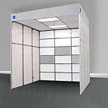Custom Horizontal Laminar Flow Cleanrooms