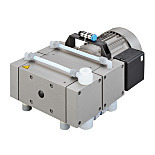 Vacuum Pump; High Capacity 2052, Diaphragm, Welch, 115 V