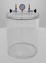 Cylinder Acrylic Vacuum Chambers with Removable Top Lids