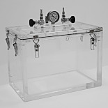 Acrylic Vacuum Chambers with Removable Top Lids