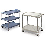myCart Series Polymer Utility Carts by InterMetro