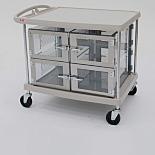 DesiCart; Polyethylene Frame, Static Dissipative PVC Chamber, 27.75