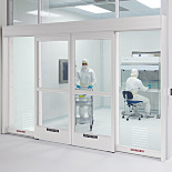 Recessed Automatic Sliding Doors, Aluminum
