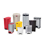 Slim Jim Step-On Medical Waste Containers with Foot Pedals by Rubbermaid