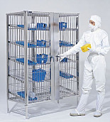 Cleanroom Security Storage Cabinets