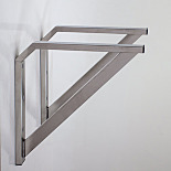 Bracket; Stainless Steel, Installed, Support for Pass-Through Chambers