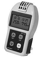 Temperature/Humidity Meter; Palm-Sized, Built-In Sensor, RS232C Interface