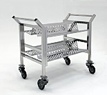 BioSafe® Ultra-Clean Stainless Steel Carts