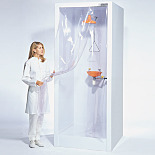 Enclosed Laboratory Safety Shower