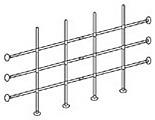 Distillation Grid Kit, 4 feet, for Protector ClassMate