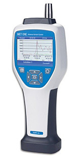 Particle Counter; Handheld, Laser, 6 Channels, 0.3 - 10 µm, MET ONE by Beckman Coulter