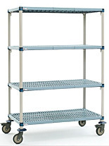 MetroMax Q Open-grid Mobile Shelving by InterMetro