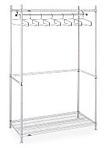 Free Standing Single Rack Garment Racks by InterMetro