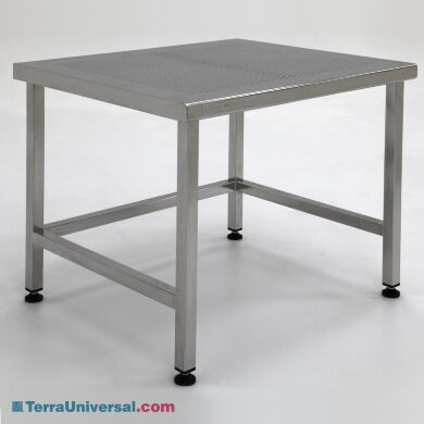 Work Station Biosafe 304 Stainless Steel Heavy Duty Perforated Top 48 W X 30 D H A Base