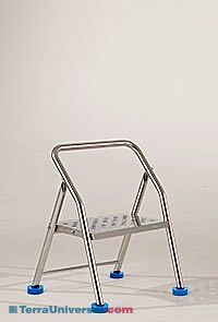 Phenomenal Biosafe Stainless Steel Folding Step Stool Creativecarmelina Interior Chair Design Creativecarmelinacom