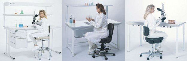 Choosing A Cleanroom Chair: The Battle of Comfort vs. Ergonomics