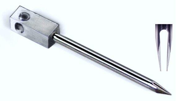 Microarray printing pin